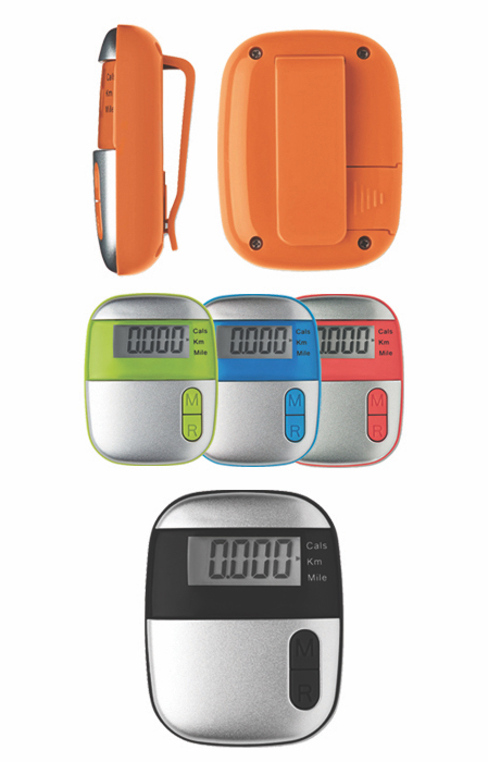 3. Onmood Pedometer With Clip
