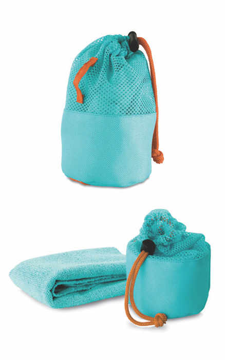 46. Mink Fitness Towel In Pouch