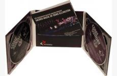 6 panel digiPak 2 tray with booklet